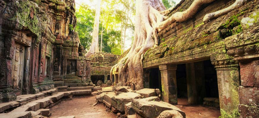 Spectacular Angkor Wat with Singapore - 7 Days